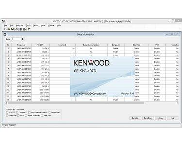 Kenwood KPG-197D software