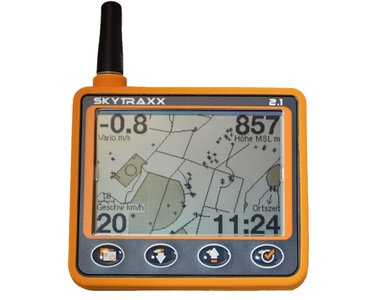 Skytraxx 2.1 vario met Flarm en Fanet