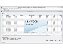 Kenwood KPG-197D software